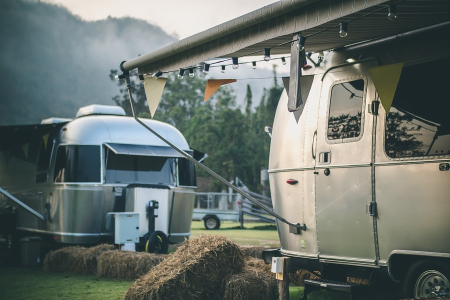 Large Airstream Trailer