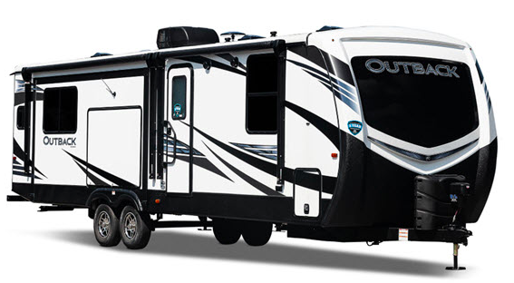 Keystone Outback 322BH trailer with slide outs