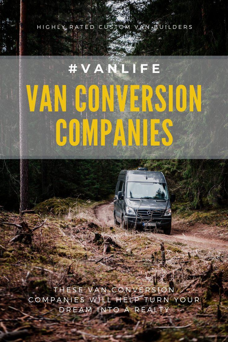 Sprinter Van on dirt road