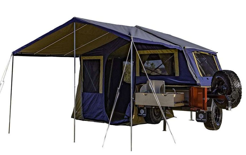 Turtleback Pop Up Trailer