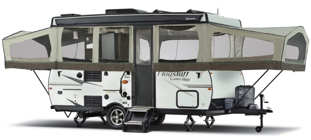 forest river flagstaff pop up camper