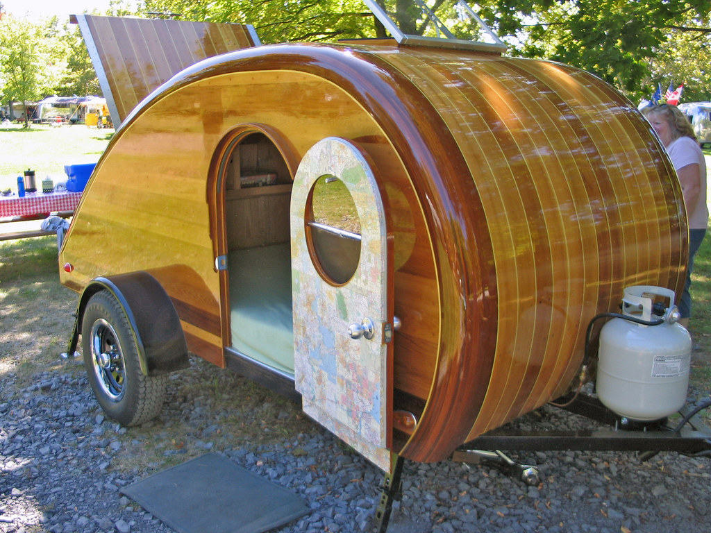 Teardrop Camper Built from plans