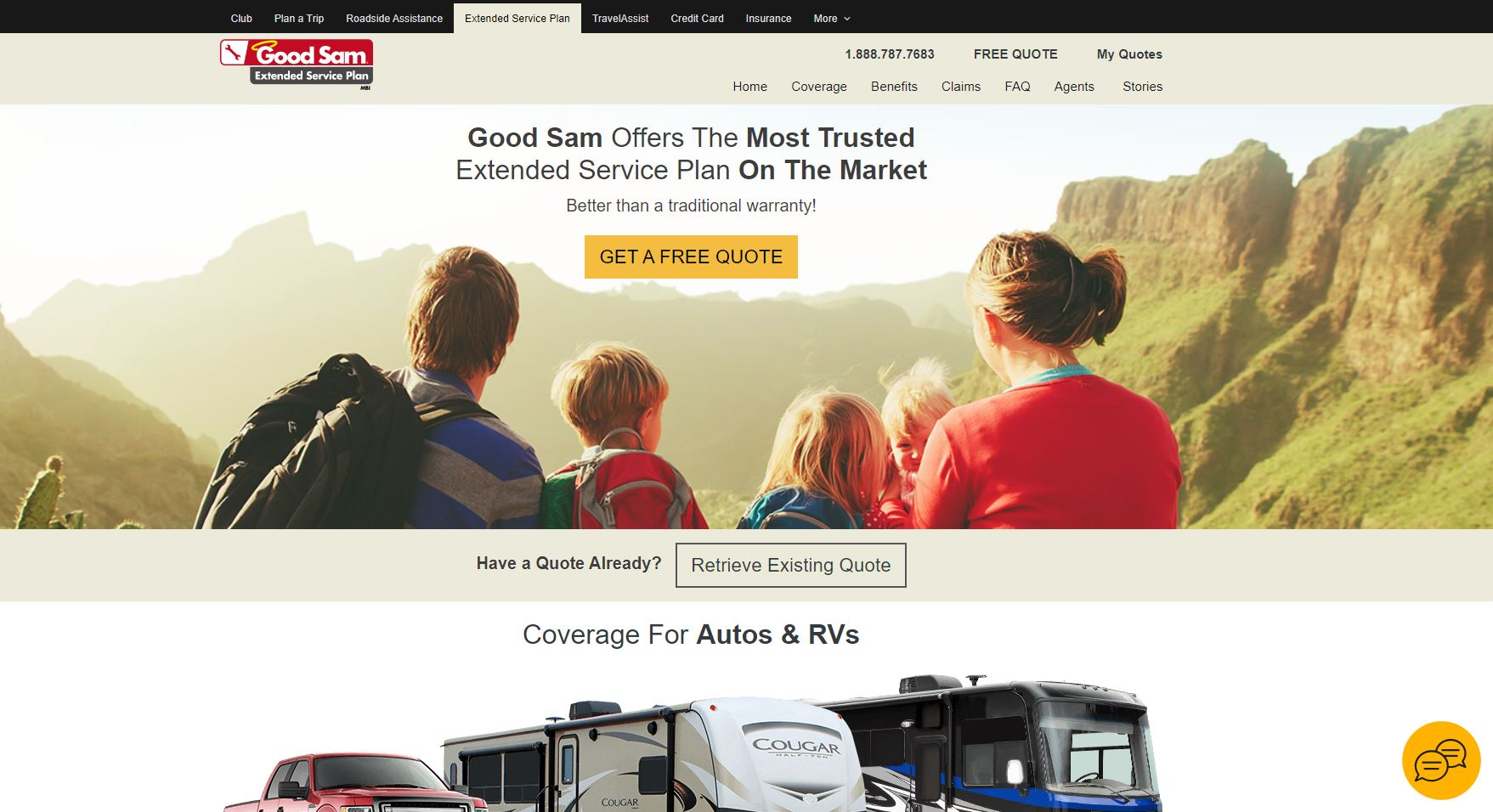 Good Sam RV Extended Warranty