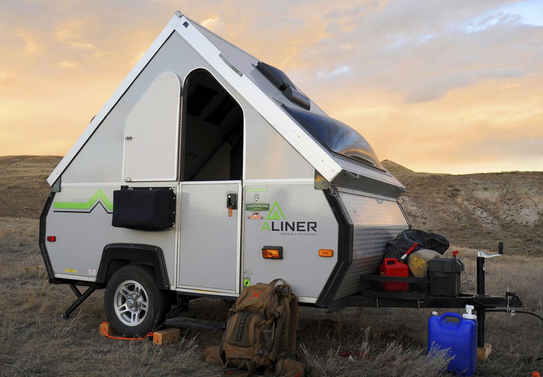 a frame trailer