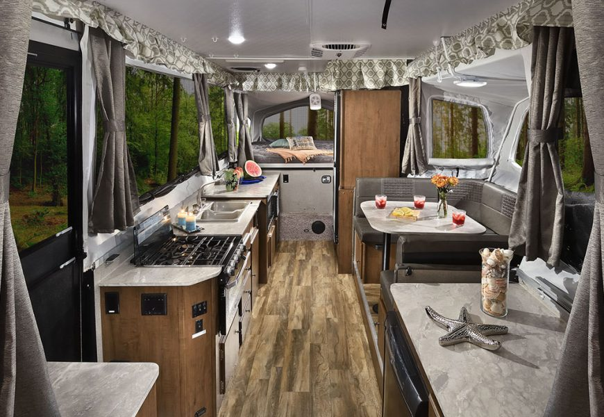 Luxury Pop Up Campers, Pop Up Tent Trailer With Bathroom
