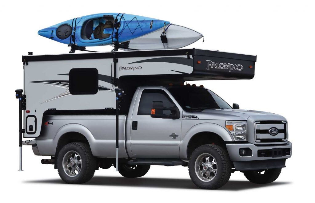 Palomino Explore Backpack Truck Bed
