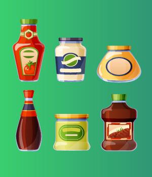 3. Condiments