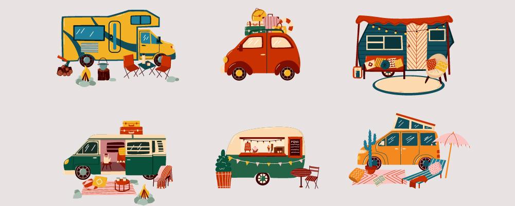 6 Different Camper Van