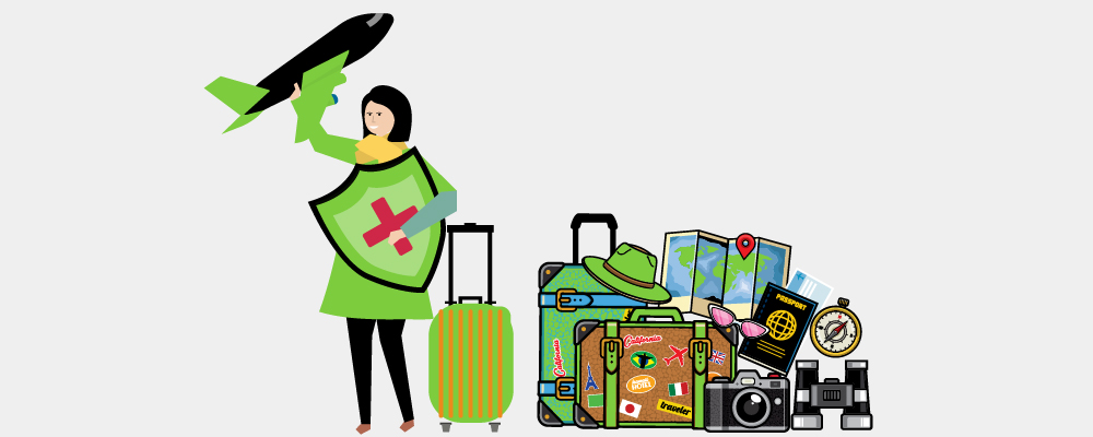 Things to bring when travelling solo